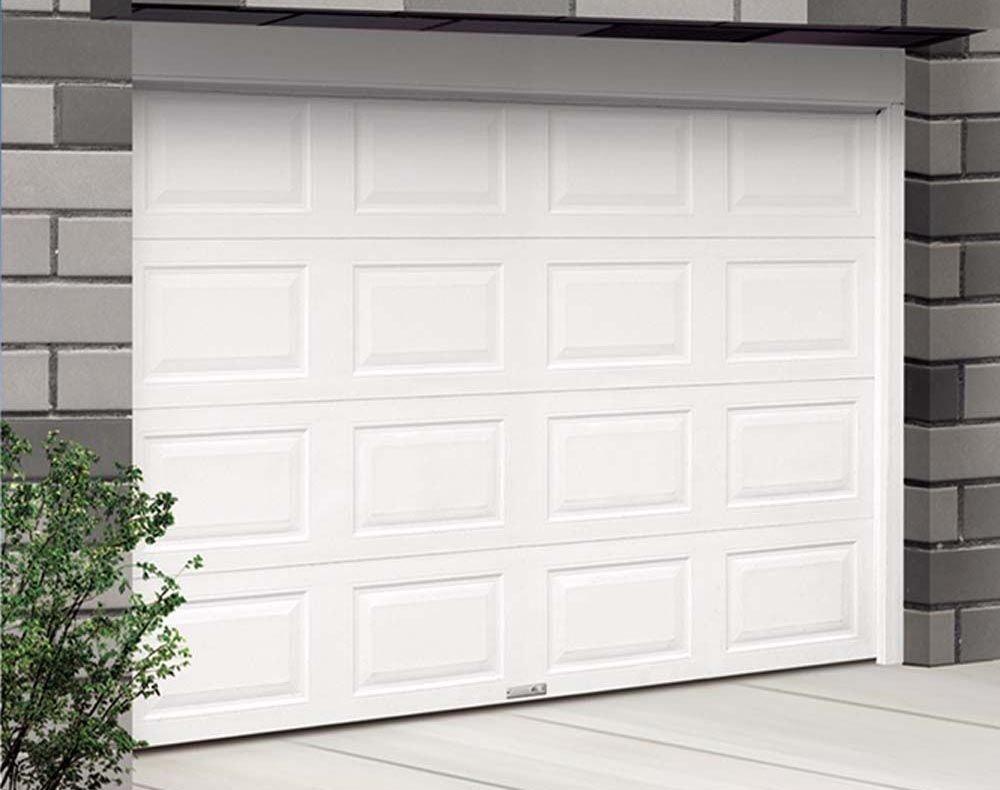 La porte de garage sectionnelle devient de plus en plus for Decoration porte garage